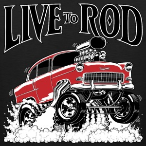 LIVE TO ROD 1955 Gasser MEN's-T - Men's Premium Tank