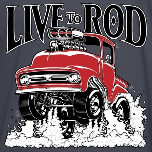 LIVE TO ROD 1956 F100 Gasser Hoodie - Kids' Long Sleeve T-Shirt