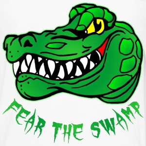 Fear The Swamp Gator - Men's Premium Long Sleeve T-Shirt