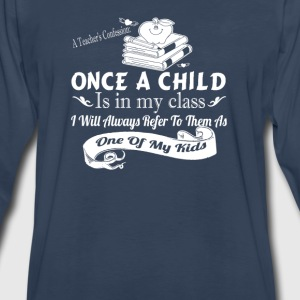 A Teacher's Confession - Men's Premium Long Sleeve T-Shirt