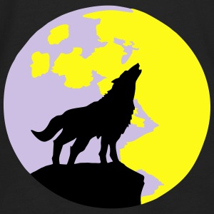 Wolf & Full Moon Bags & backpacks - Men's Premium Long Sleeve T-Shirt