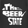 The Beer State (White)  - Adjustable Apron