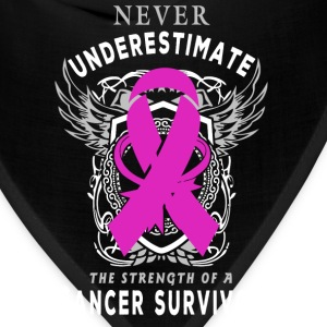 Cancer Ribbon Women's T-Shirts - Bandana