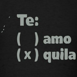 TE AMO TEQUILA Hoodies - Men's T-Shirt