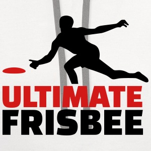 Ultimate Frisbee Women's T-Shirts - Contrast Hoodie