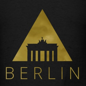 Berlin Hipster Triangle Tanks - Men's T-Shirt