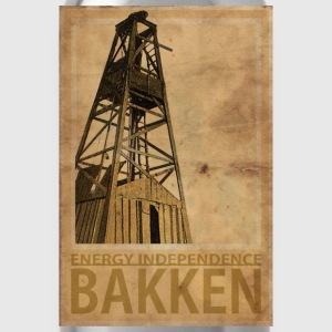 BAKKEN North Dakota - Water Bottle
