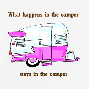 what happens in the camper.... - Men's Premium Tank