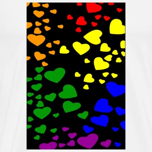 Diversity Hearts Phone & Tablet Cases - Men's Premium T-Shirt