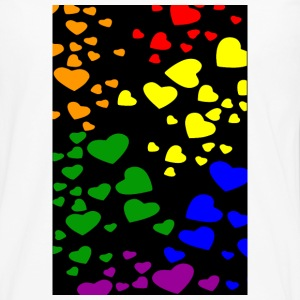 Diversity Hearts Phone & Tablet Cases - Men's Premium Long Sleeve T-Shirt