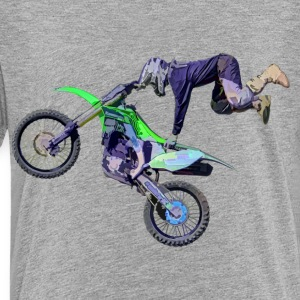 Freestyle Motocross Rider - Toddler Premium T-Shirt