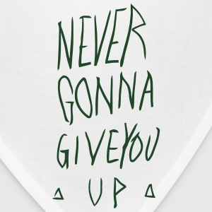 NEVER GONNA GIVE YOU UP Hoodies - Bandana