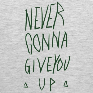 NEVER GONNA GIVE YOU UP Hoodies - Men's Premium Tank