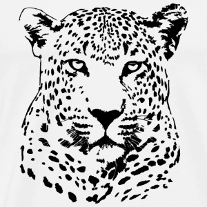 Leopard - Safari Long Sleeve Shirts - Men's Premium T-Shirt