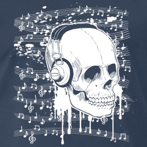 Skull Music design Tank Tops - Men's Premium T-Shirt