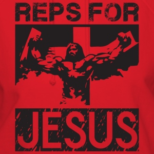 Reps For Jesus (Gym Motivation) T-Shirts - Women's Hoodie