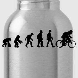 Bicycle evolution shirt - Water Bottle
