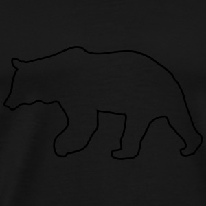 Bear - Grizzly Hoodies - Men's Premium T-Shirt