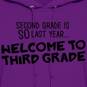 welcome to 3rd grade Women's T-Shirts - Women's Hoodie