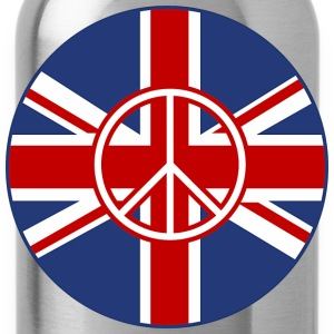 British Flag Peace Roundel - Water Bottle