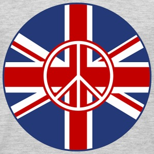 British Flag Peace Roundel - Men's Premium Long Sleeve T-Shirt