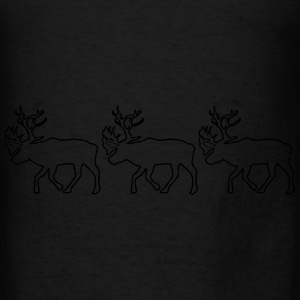 Caribou - Christmas - Xmas Hoodies - Men's T-Shirt