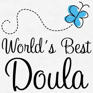 Worlds Best Doula Mugs & Drinkware - Men's T-Shirt