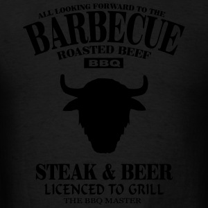 Barbecue - Buffalo  Hoodies - Men's T-Shirt