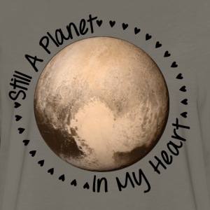 Pluto | Still a planet in my heart - Men's Premium Long Sleeve T-Shirt