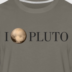 I Heart Pluto - Men's Premium Long Sleeve T-Shirt