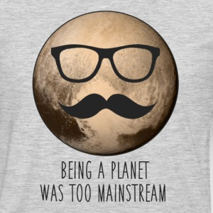Pluto | Being a planet was too mainstream - Men's Premium Long Sleeve T-Shirt