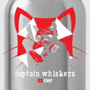 Captain Whiskers for the Ladies - Water Bottle