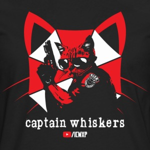 Captain Whiskers for the Ladies - Men's Premium Long Sleeve T-Shirt