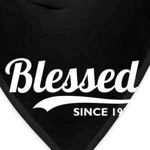 Blessed since 1974 - 42nd Birthday Thanksgiving  - Bandana
