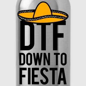 DTF DOWN TO FIESTA Sweatshirts - Water Bottle