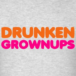 DRUNKEN GROWNUPS Long Sleeve Shirts - Men's T-Shirt
