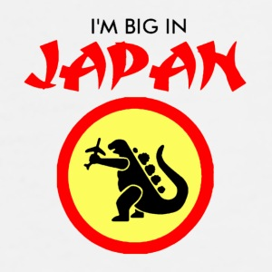 I'm big in Japan coffee mug - Men's Premium T-Shirt