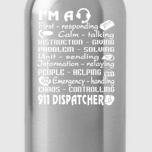 911 Dispatcher - Water Bottle
