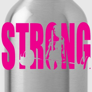 STRONG Girl Deadlift Tanks - Water Bottle