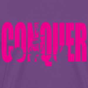 CONQUER (Girl Deadlift) Tanks - Men's Premium T-Shirt