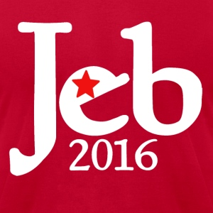 Jeb Bush 2016 republican  - Men's T-Shirt by American Apparel