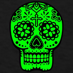 mexican skull decorated Mugs & Drinkware - Men's T-Shirt