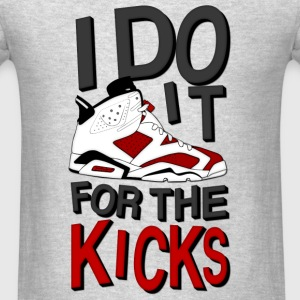 i do it for the kicks carmines 6 Long Sleeve Shirts - Men's T-Shirt
