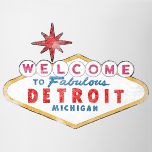 Welcome to Fabulous Detroit Michigan T-Shirts - Coffee/Tea Mug