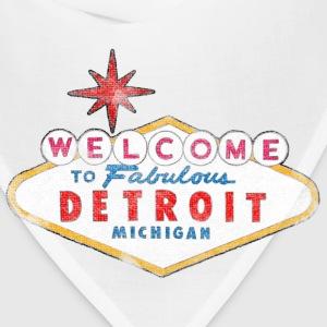 Welcome to Fabulous Detroit Michigan T-Shirts - Bandana