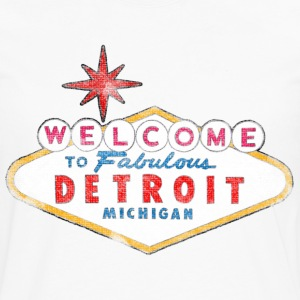 Welcome to Fabulous Detroit Michigan T-Shirts - Men's Premium Long Sleeve T-Shirt