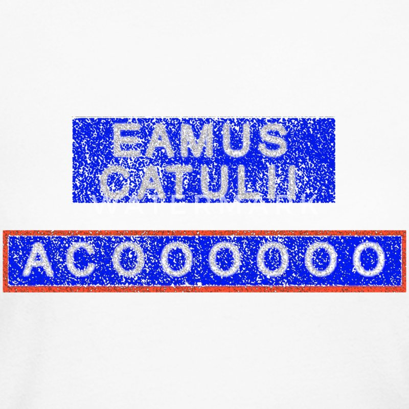 Eamus Catuli Chicago Wrigleyville Long Sleeve Shirts - Women's Long Sleeve Jersey T-Shirt