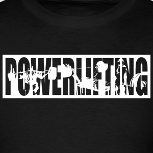 Powerlifting Tank Tops - Men's T-Shirt