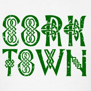 Corktown Detroit Michigan Irish Long Sleeve Shirts - Men's T-Shirt