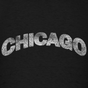 Distressed Chicago Arch Hoodies - Men's T-Shirt